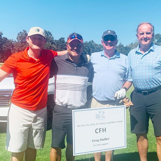What an amazing Monday we had with all of you!! Thank you to The First Tee Tri-Valley 15th Annual Golf Tournament!  It was an honor to be there for such a great cause! @thefirstteetrivalley  #cfhltd #knowyourcbdsource #cbdforgolf #thefirstteetrivalley