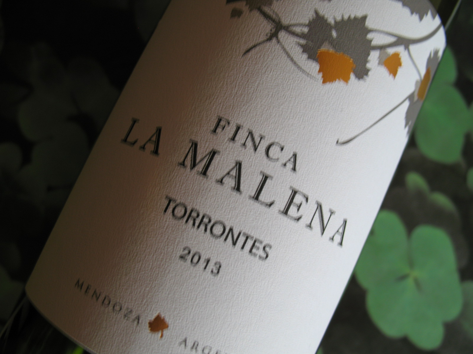 Finca La Malena 2013 Torrontes (Very Limited Quantity)