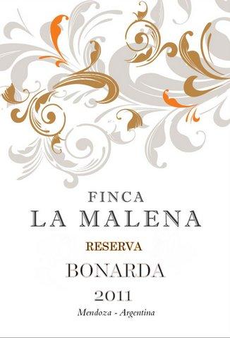 Finca La Malena Bonarda Reserva 2011