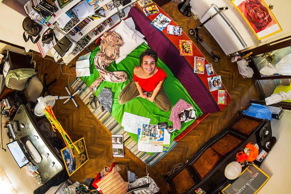 Bucharest, Romania: Andreea, a 24-year-old civil engineer.
