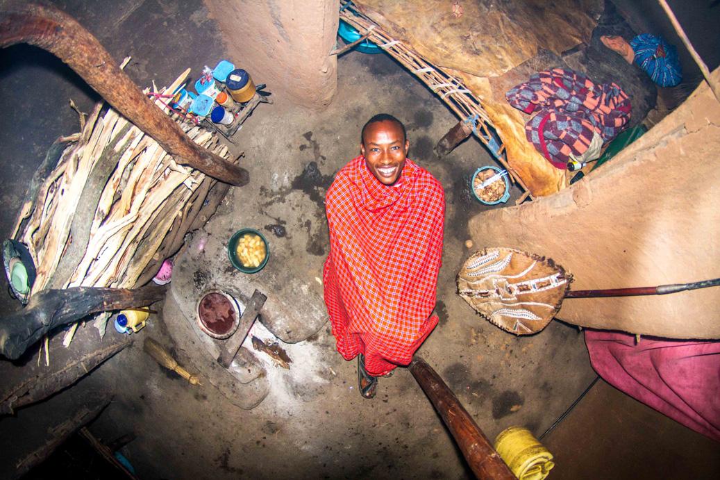 Echo Manyata, Kenya: Ezekiel, a 22-year-old warrior.