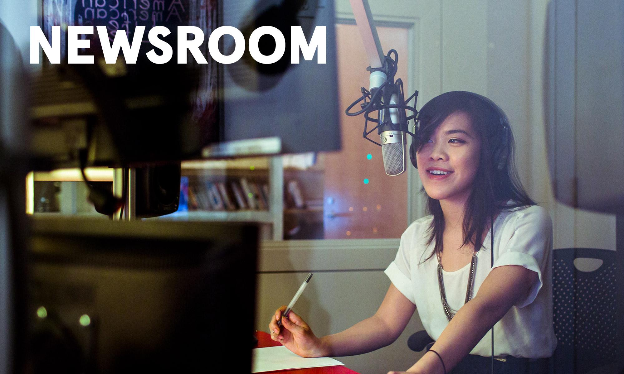 Brand Newsroom and social media management