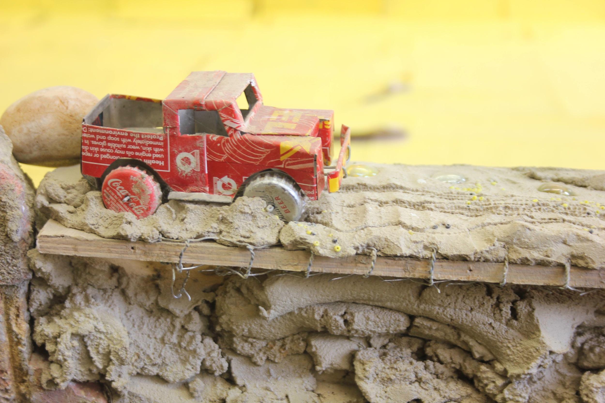 15. 'summertime…' detail- car on wall (1).jpg