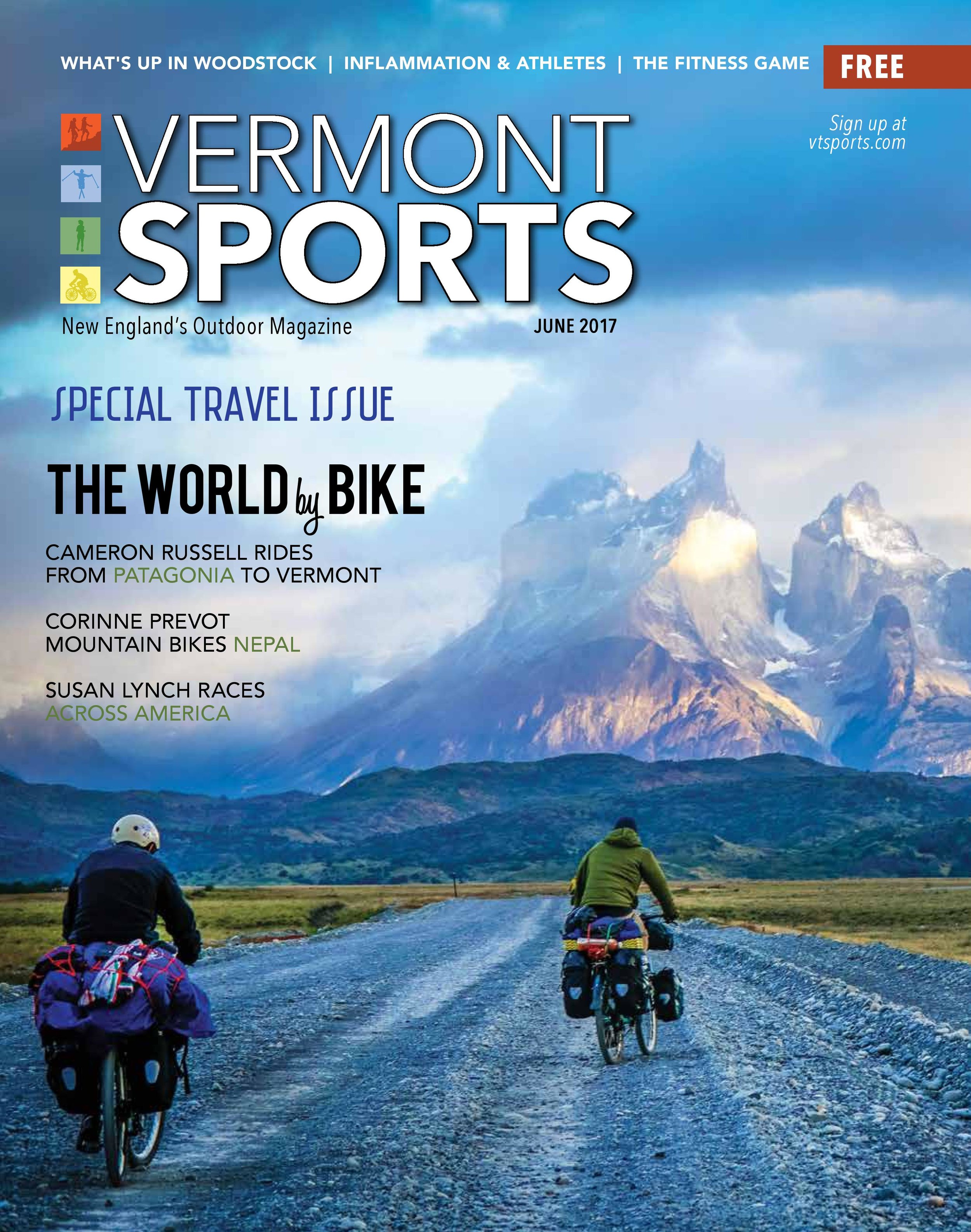 Vermont Sports - June 2017 Cover Story