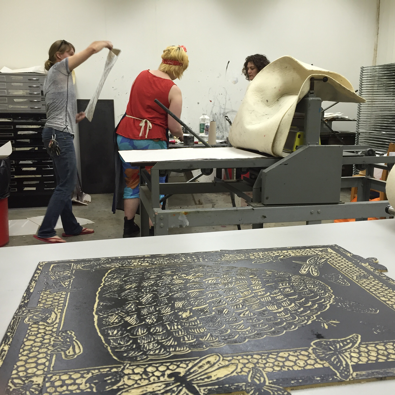 Pulling Prints