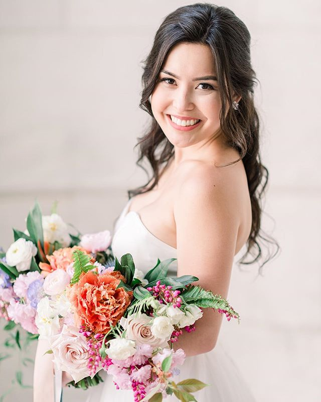 2 more days until spring is HERE and I'm ready for it!! Who else is EXCITED?! • •  Photography: @fabianaskubic  Floral Design: @whisperandbrookflowerco  Invitation suite: @plumeandfete  Hair & Makeup: @brittanyannbeauty  Dress: @lyravegabridal • • #bridal #brides #mua #bridesmaids #wedding #weddingmakeup #weddingdress #weddinginspo #weddinginspiration #bridal #makeup #makeupartist #philly #newyork #bethlehempa #weddingmakeup #weddingmakeupartist #photography #phillymakeupartist