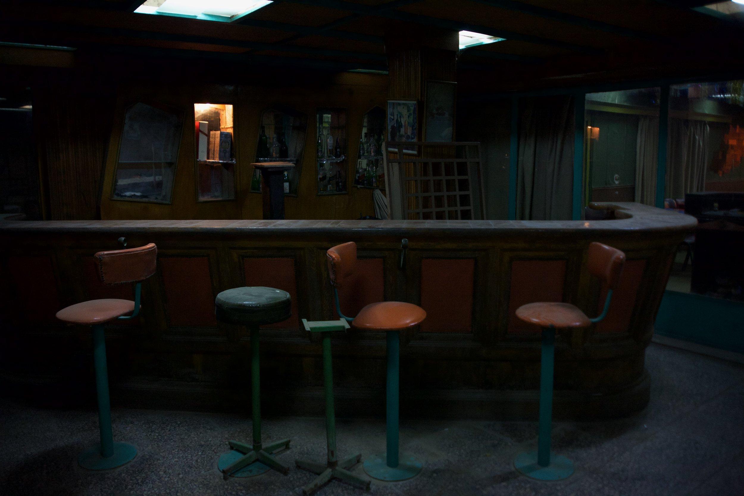Inside the Virginian Club, Muqattam, Cairo, Egypt.