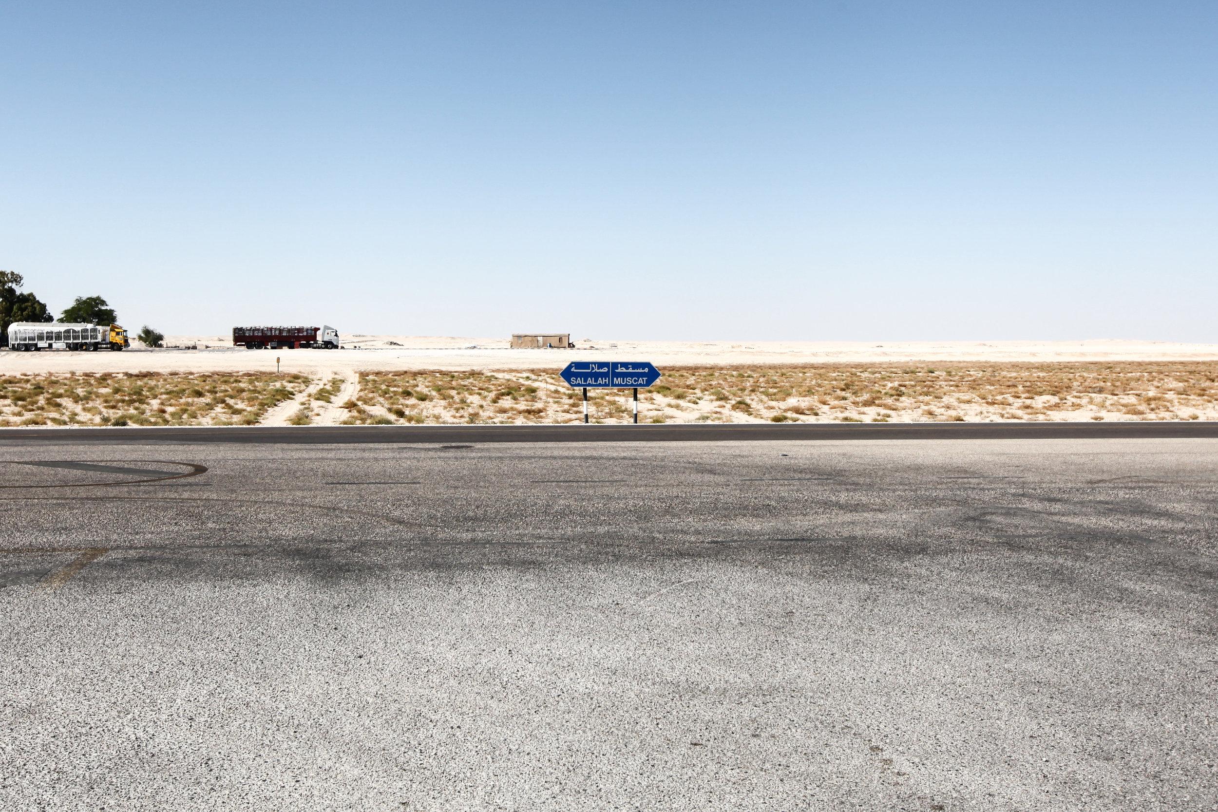 The Empty Quarter, Oman.