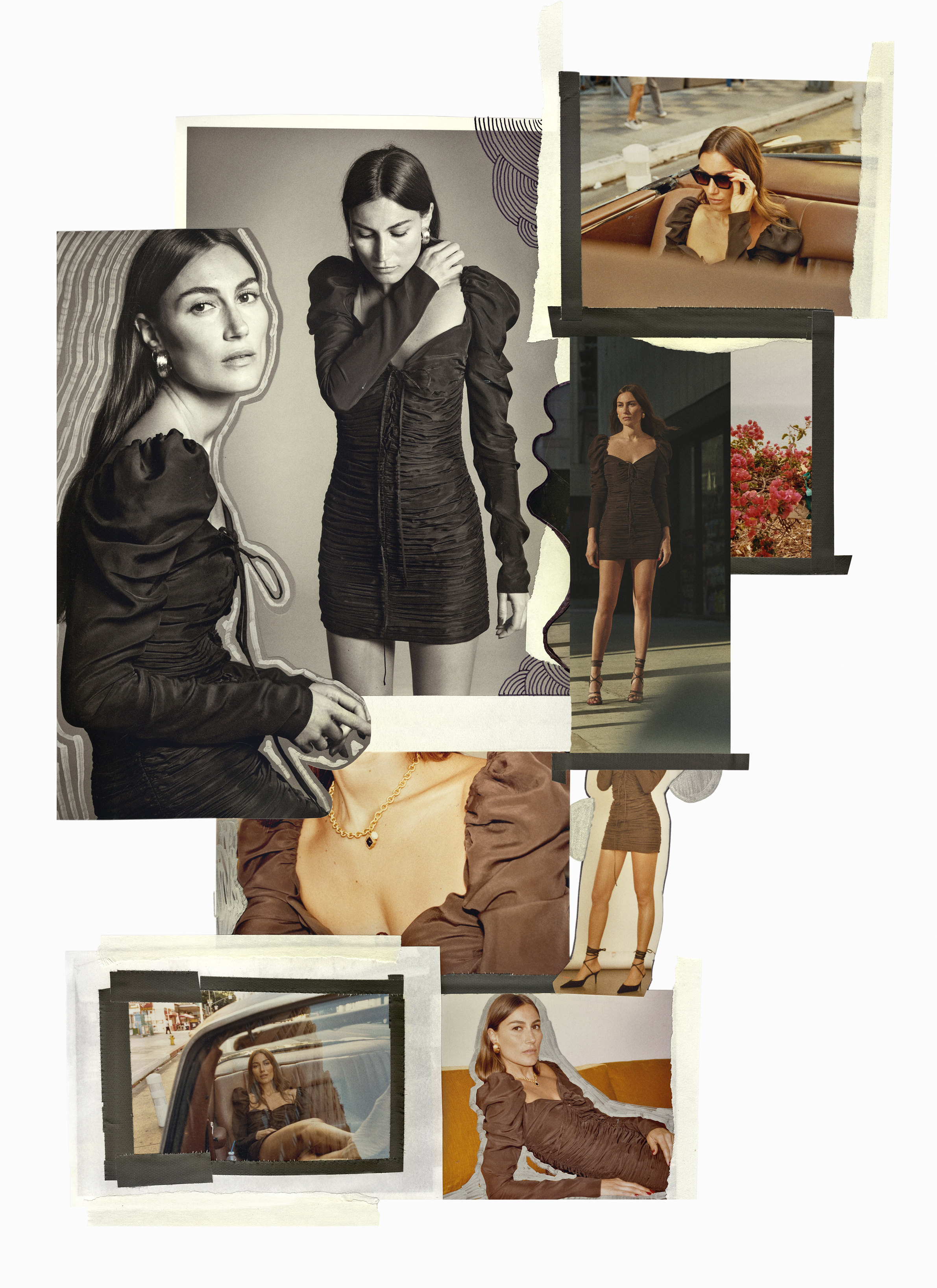 Collages for ZARA
