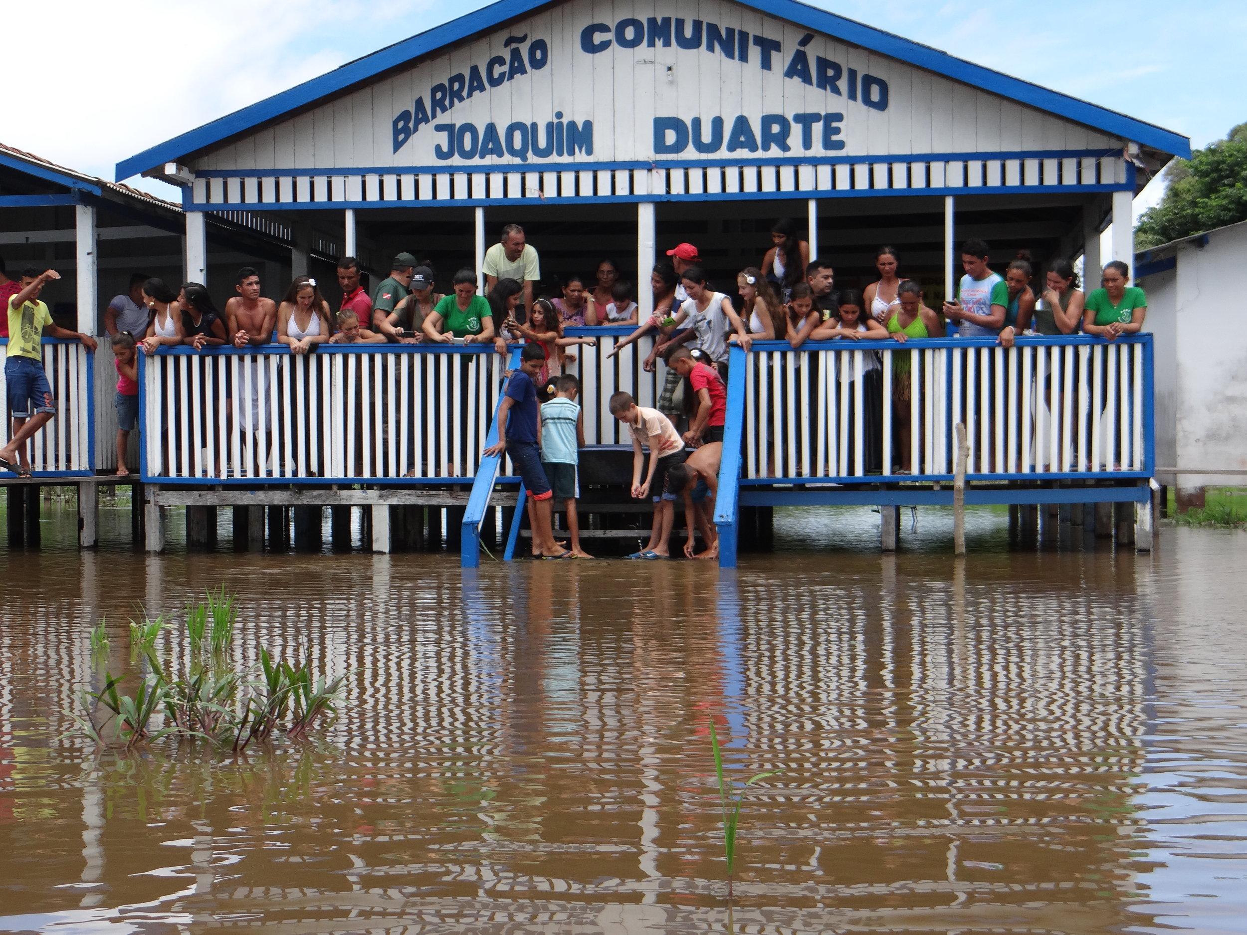 Comunidade Água preta: soltura em abril de 2017