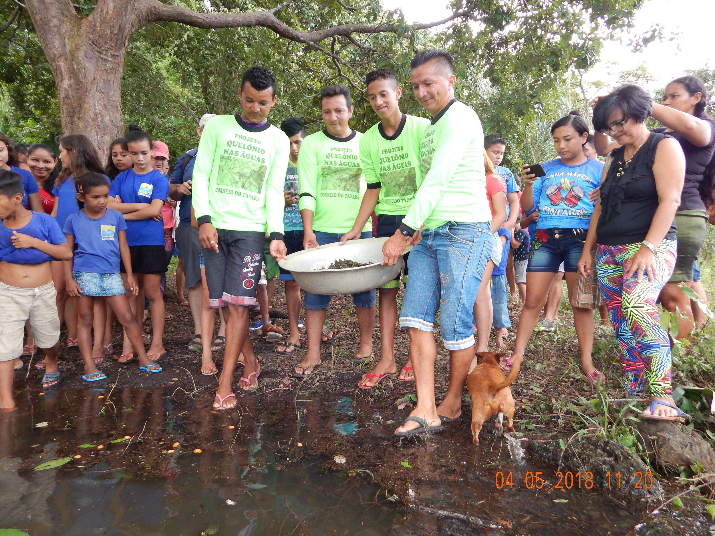 Comunidade Correio do Tapará: soltura em maio de 2018