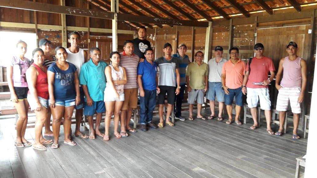 Reunião de planejamento em Pixuna do Tapará em 08/03/2019