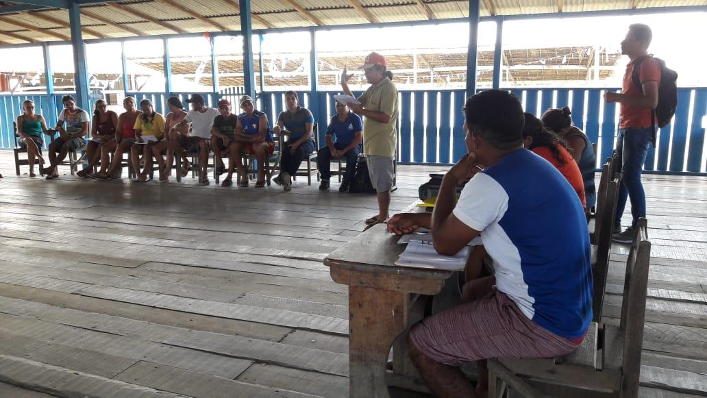 Reunião de planejamento em Santa Maria do Tapará 08/03/2019