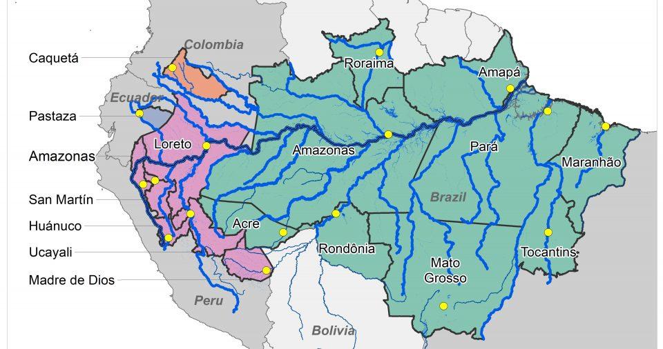 Figure 3: Governos pan-amazônicos interessados em uma estratégia de desenvolvimento baseada em peixes e baixa emissão.