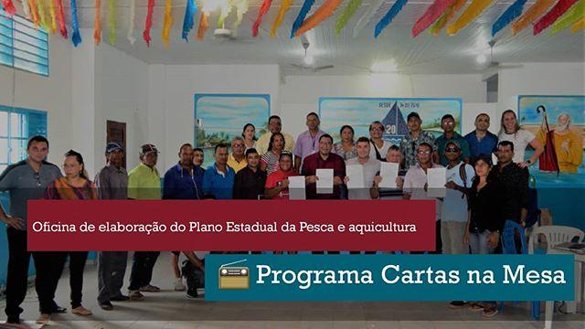A oficina realizada pela Sedap em Santarém foi destaque no Programa Cartas na Mesa desta terça-feira (22) 📻 • • A reportagem está disponível aos 54m55s até 58m57s no arquivo digital. • • Link no topo da nossa página no Facebook 📲