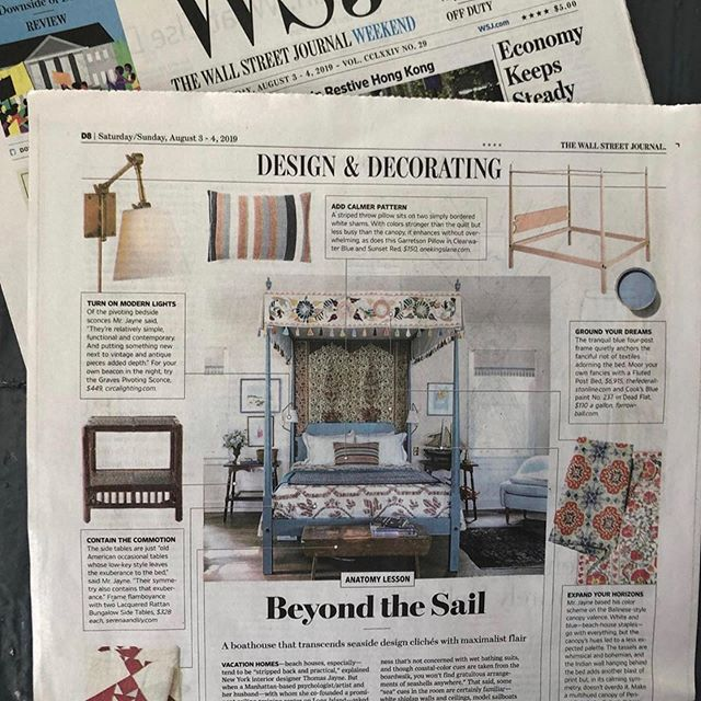 Todays WSJ. Thank you Thomas! Credits in the second photo