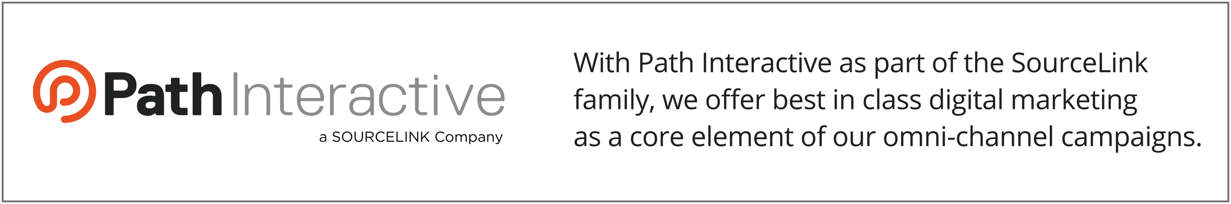 SourceLink and Path Interactive