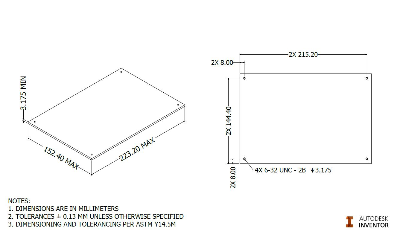 Figure 3a.  Build Surface.