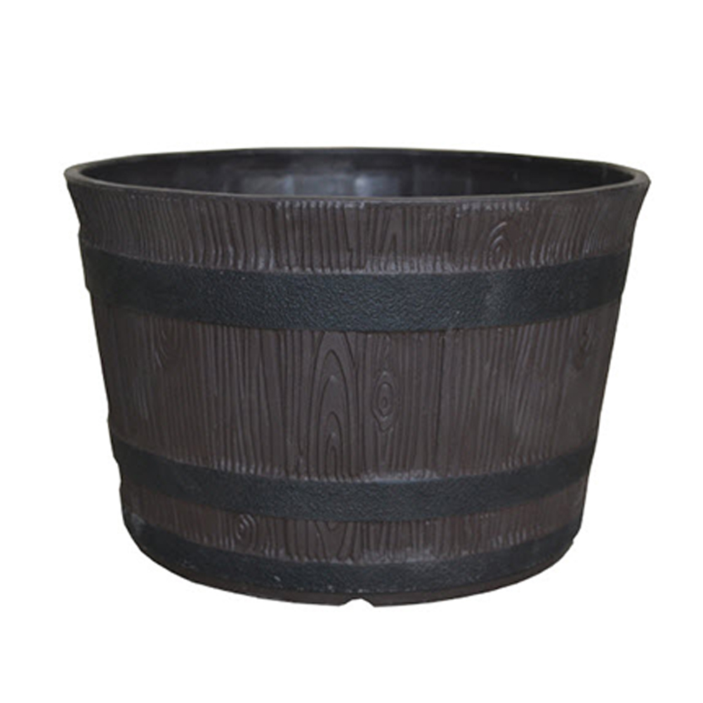 Whiskey Barrel with Annual Ring