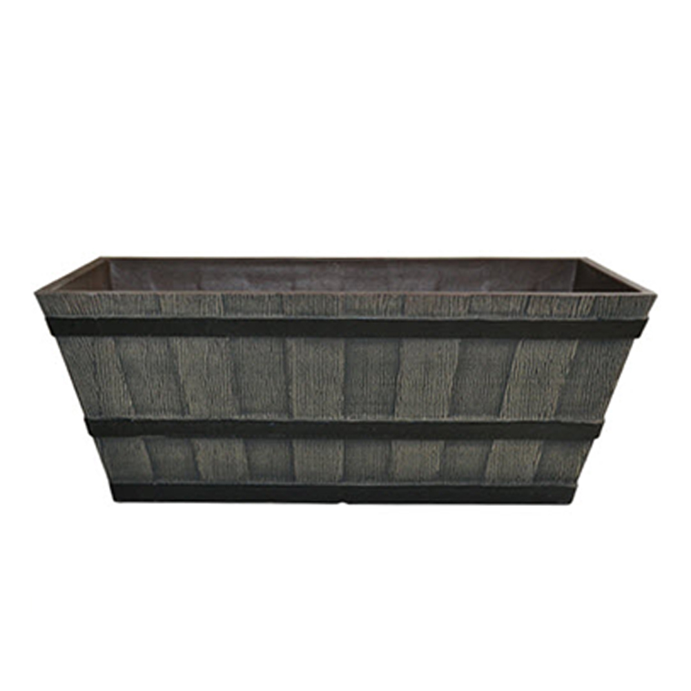 Whiskey Barrel Trough