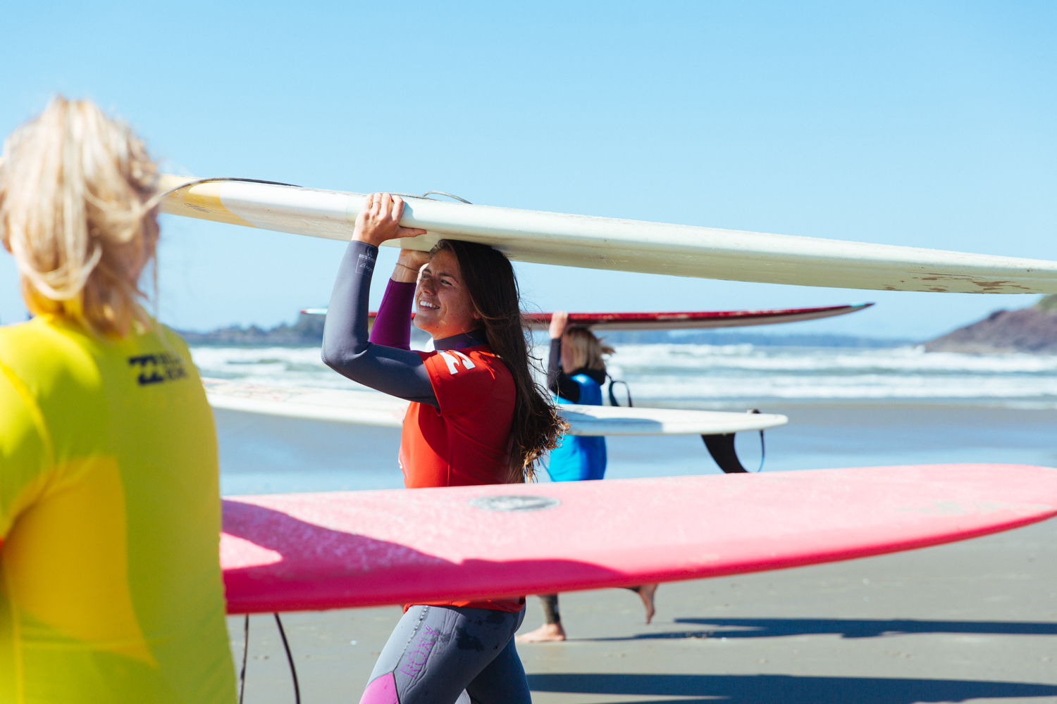 women's surf film festival Tofino is a Place