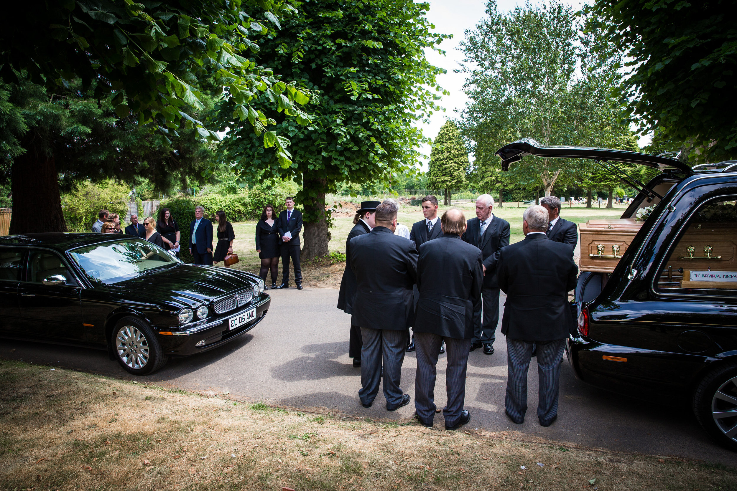 Oxford Funeral Photographer at St Giles Church, Oxford