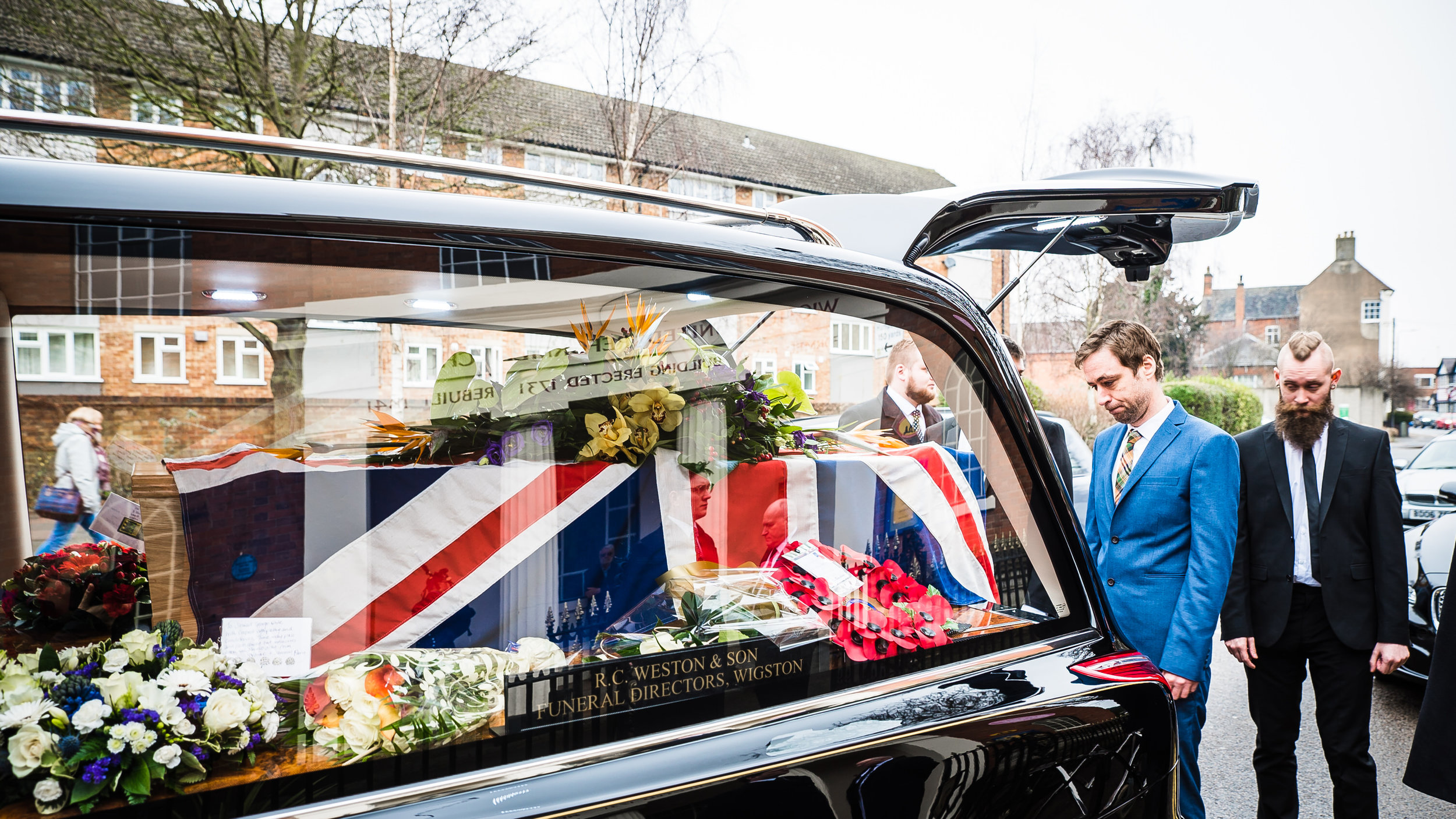 Great Glen Crematorium Leicestershire Funeral Photographer