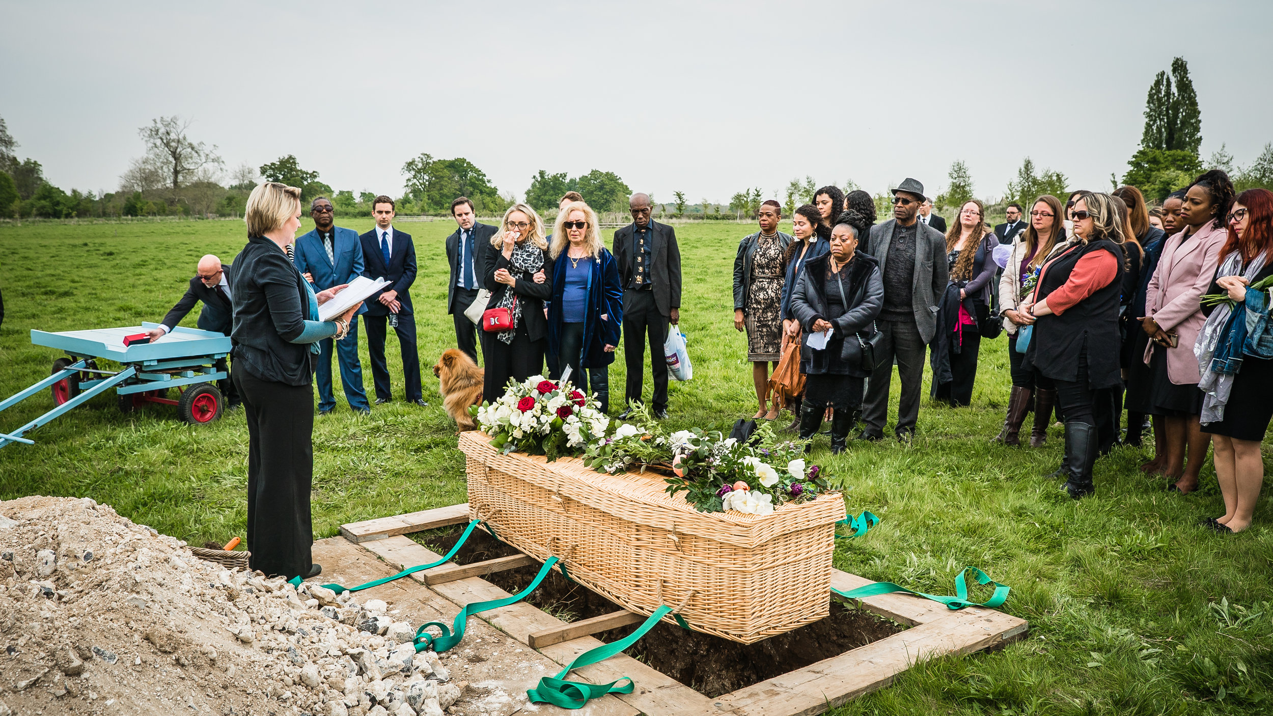 Funeral Live Streaming at Clandon Wood Natural Burial Grounds
