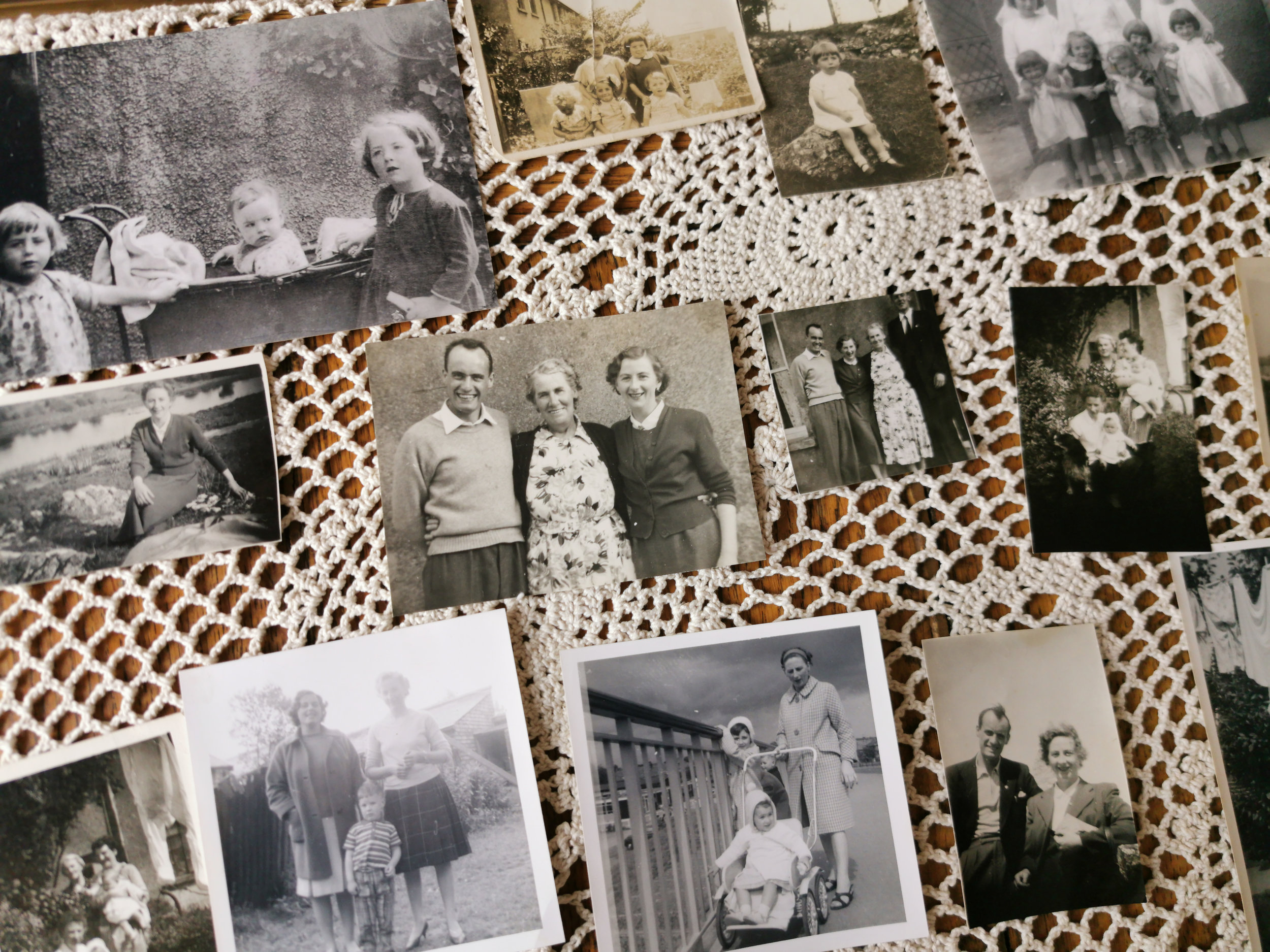 A few days ago I was asked to scan lots of old photos and create