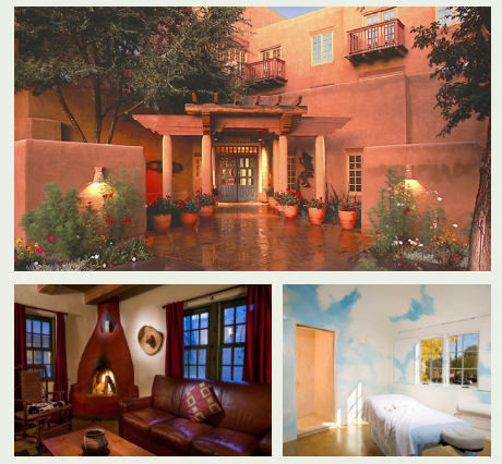 Stay at  Las Palomas , a boutique hotel in Santa Fe, and get a room discount plus a complimentary deluxe continental breakfast.  Check in Tuesday April 18 and depart on Monday April 24, 2017:  Las Palomas Studio - $99    Las Palomas Casita - $139  Plus, receive a 15% discount on all spa treatments at the Spa at  Hotel Santa Fe .