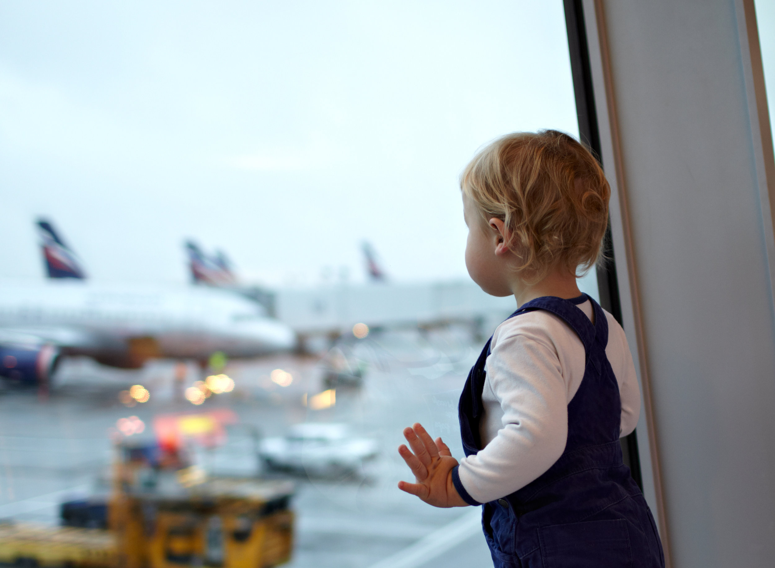 Flying from BWI with a toddler