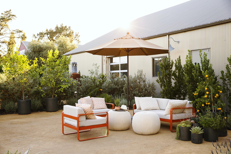 Sunset Magazine Test Garden Lounge Area