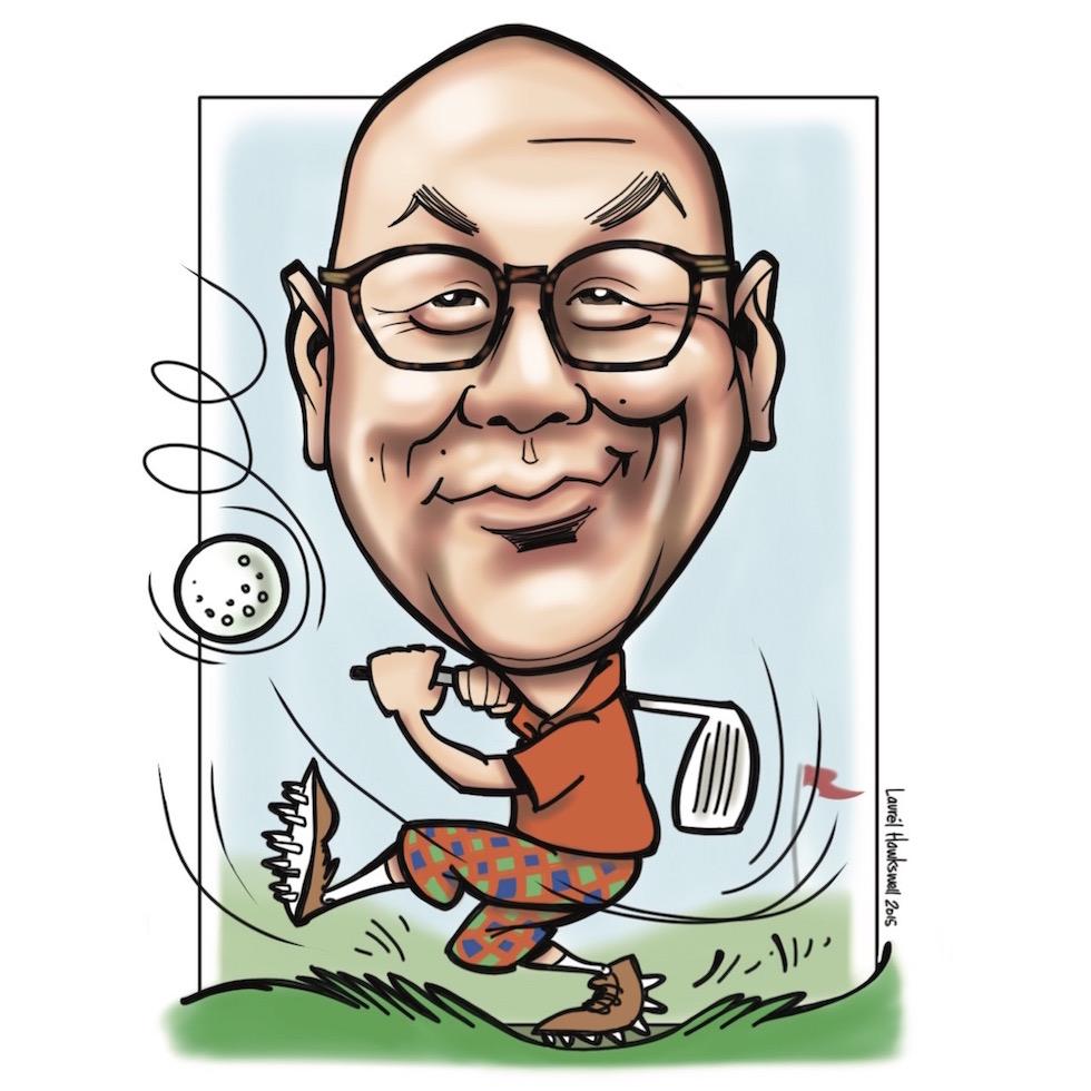 Dr. John    P  ediatric dentist & golf enthusiast
