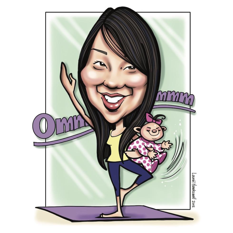 Dr. Jennifer    P  ediatric dentist &multi-tasking yogi