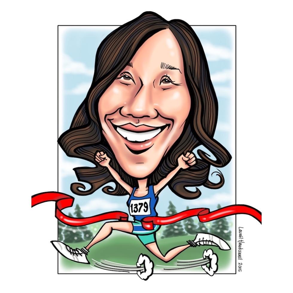Dr. Elsa    P  ediatric dentist &marathoner
