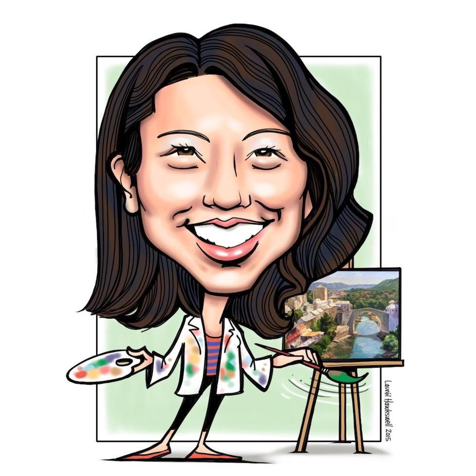 Dr. Winnie   Pediatric dentist & aspiring landscape artist