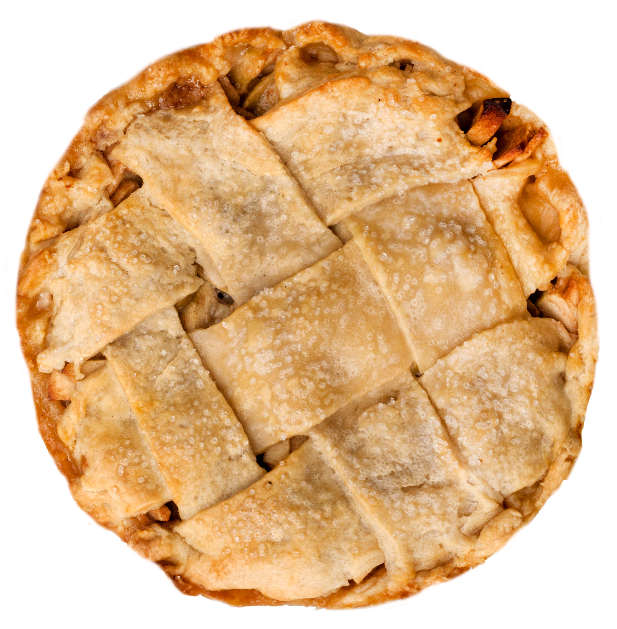 classic apple pie lattice crust