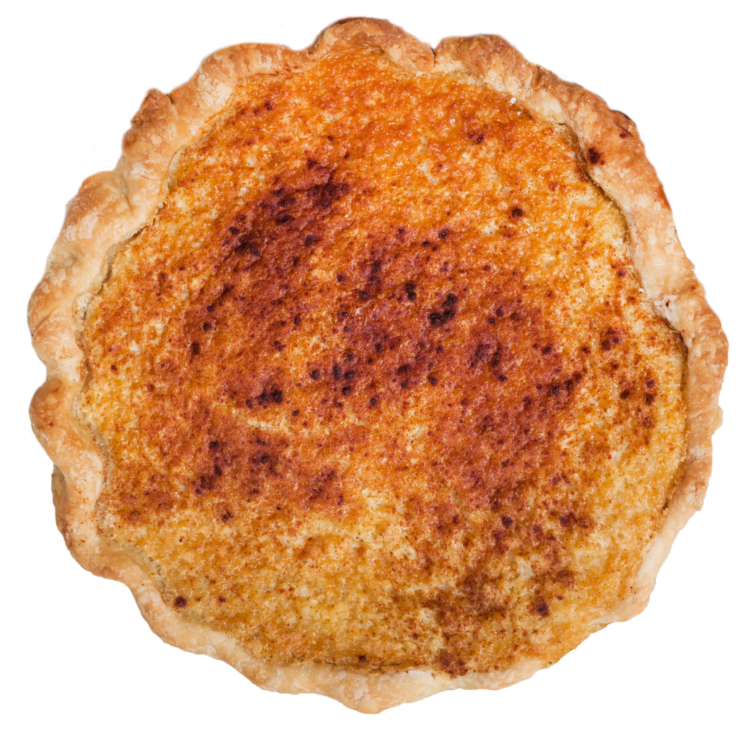 spring buttermilk pie