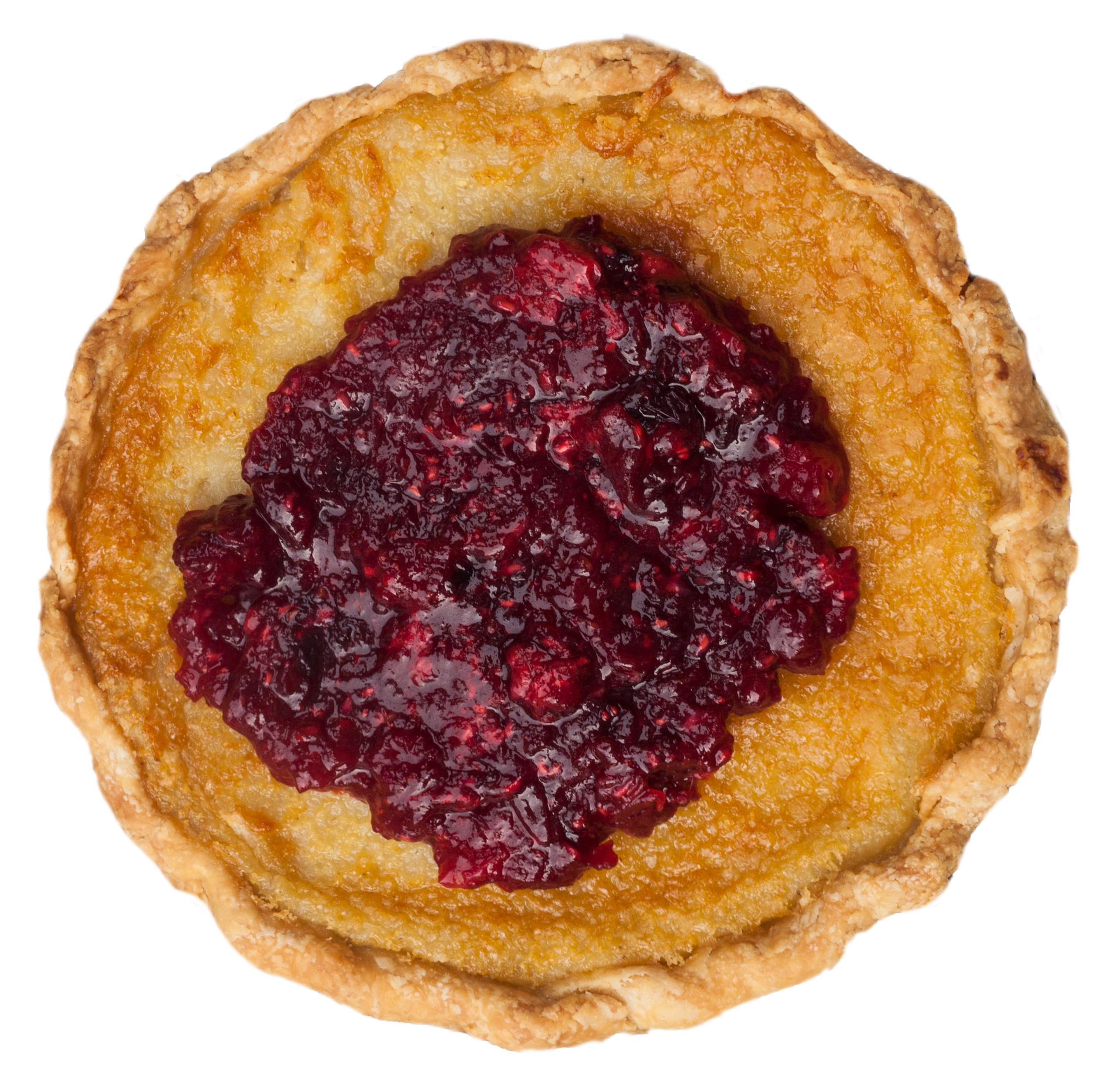 fall cranraspberry chess pie
