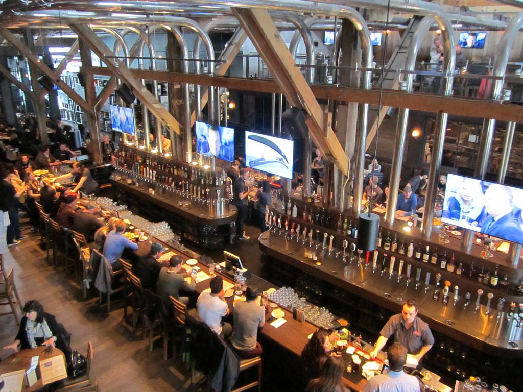 Craft beer bar Vancouver