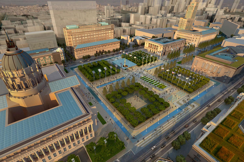 Sustainable Civic Center - KMD Architects