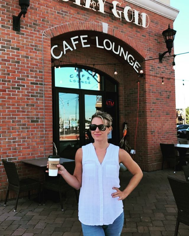 Celebrating #nationalcoffeeday @staygoldcafe .... Be back SAT OCT 28 10-1pm to play some tunes! ☕️ • • • • #coffee #coffeetime #coffeelover #coffeelovers #coffeeshop #coffeelove #yummy #staygold #coolcoffee #coolcoffeeshop #coffeeshopgig #acousticset #acousticcountry #originalsound #originalsongs #singersongwriter #newjersey #belmar #october28 #saturdaymorninggig #saturdayshow #sip