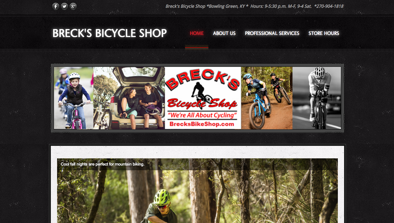 Breck's Bicycle Shop