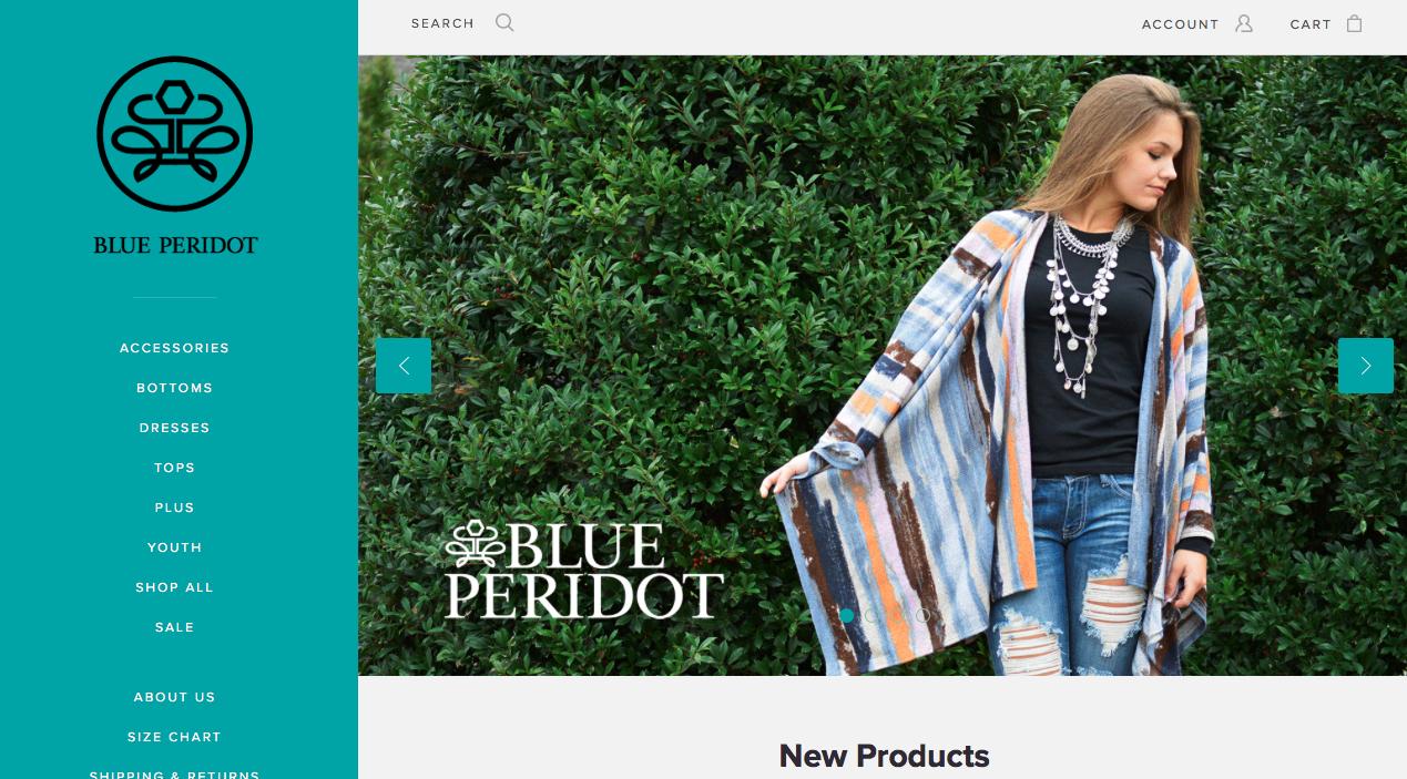 The Blue Peridot