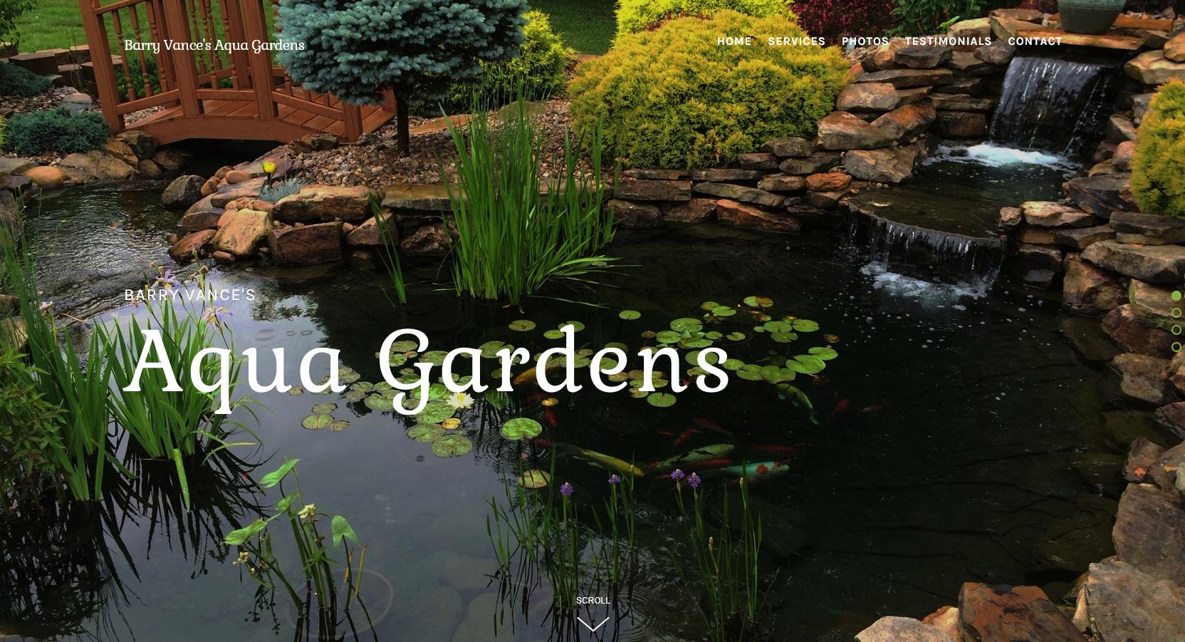 Barry Vance's Aqua Gardens
