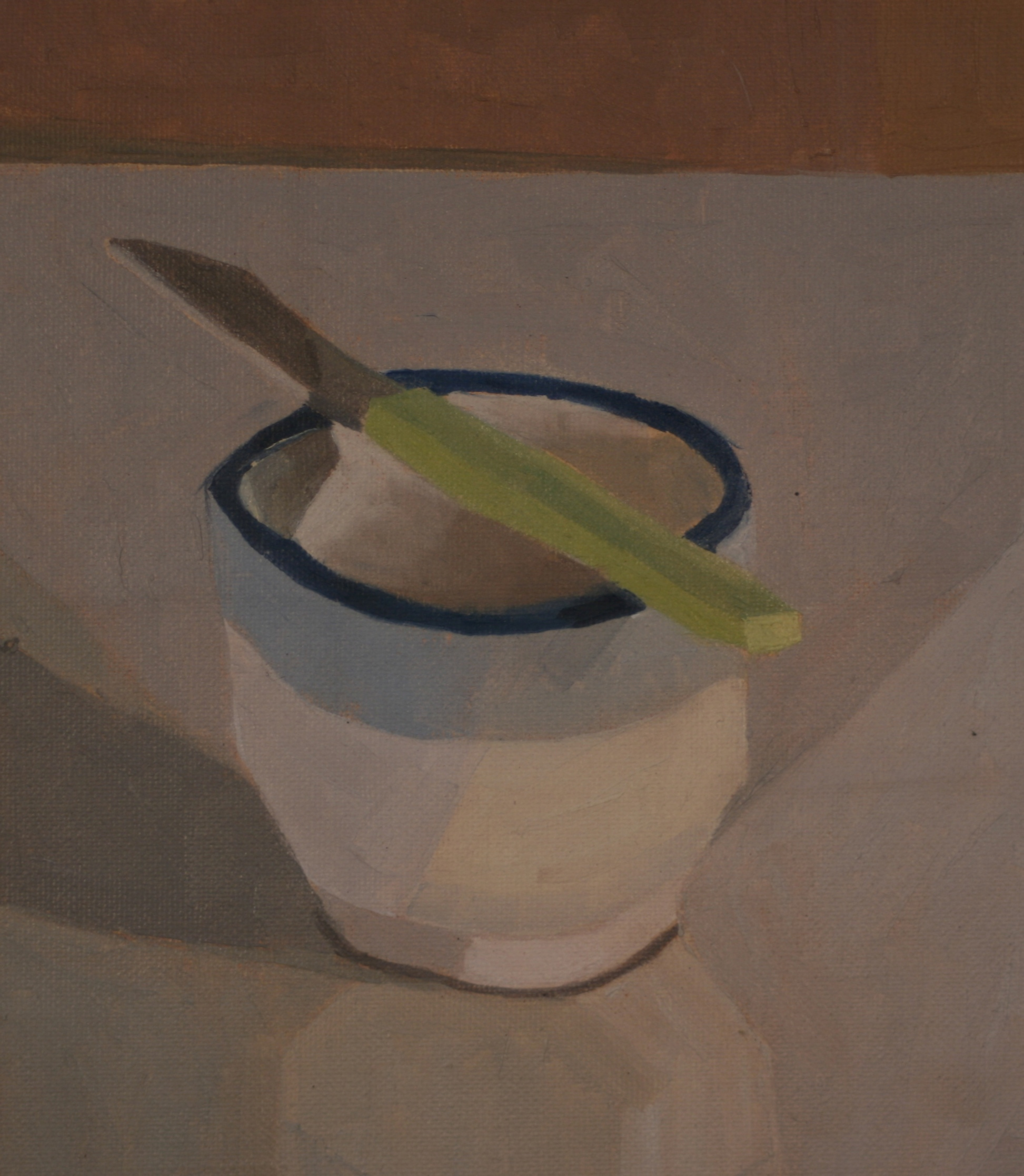 Sketch: Still life (Dusk)