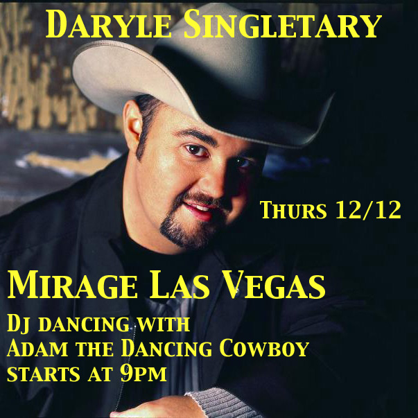 Daryle Singletary at Mirage Las Vegas