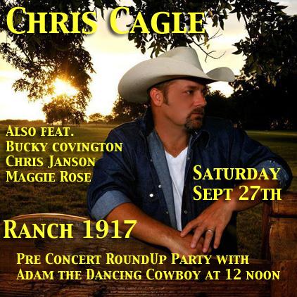 Chris Cagle at Ranch 1917