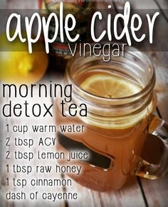 Day 4:  Drinking apple cider vinegar