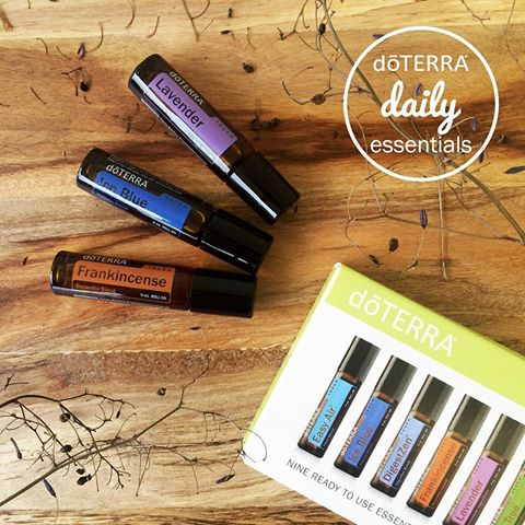 Aromatherapeutic Roll-On Oils